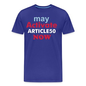 Activate ARTICLE50  - Men's Premium T-Shirt