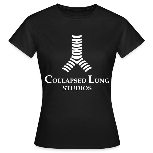 Collapsed Lung Studios Women's T-Shirt (Black) - Women's T-Shirt