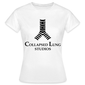 Collapsed Lung Studios Women's T-Shirt (White) - Women's T-Shirt
