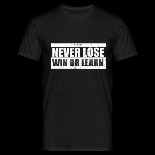 Win or Learn - Men's T-Shirt