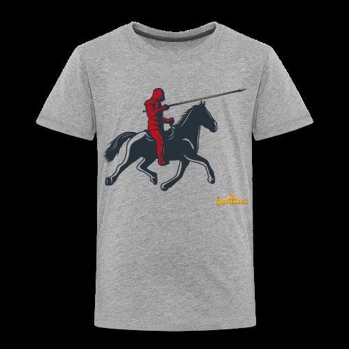 Kinder Premium T-Shirt Ritter - Kinder Premium T-Shirt
