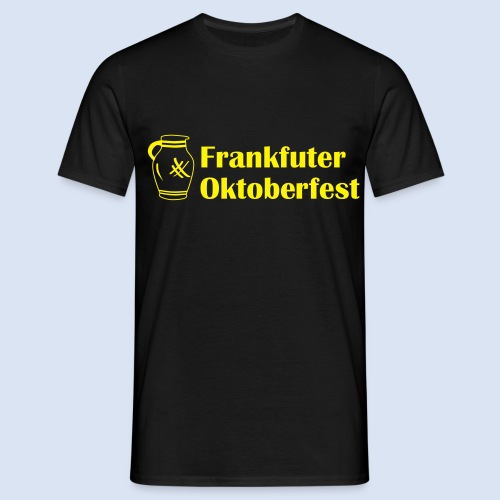 Frankfurter Oktoberfest - Wiesn auf Hessisch - Männer T-Shirt