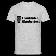T-Shirts ~ Männer T-Shirt ~ Frankfurter Oktoberfest - Wiesn auf Hessisch