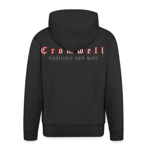 Cromwell - zipped Hoodie - Men - Simple Print - Männer Premium Kapuzenjacke