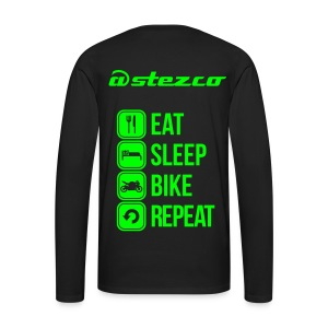 longsleeve eat sleep bike repeat - T-shirt manches longues Premium Homme