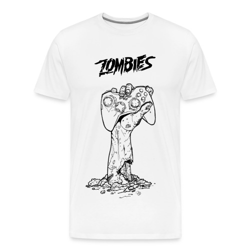zombie tshirt - Men's Premium T-Shirt