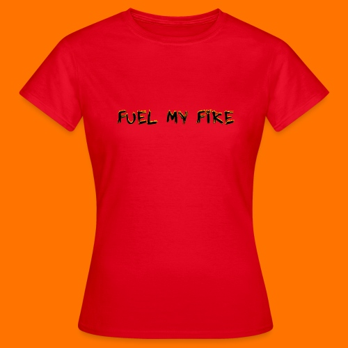 FMF Logo Women's t-shirt (red) - Women's T-Shirt