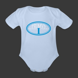 PRIMUS INTER PARES - Organic Short-sleeved Baby Bodysuit
