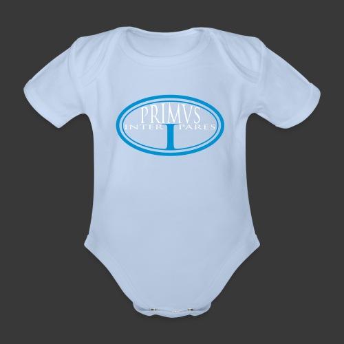 PRIMUS INTER PARES - Organic Short-sleeved Baby Bodysuit