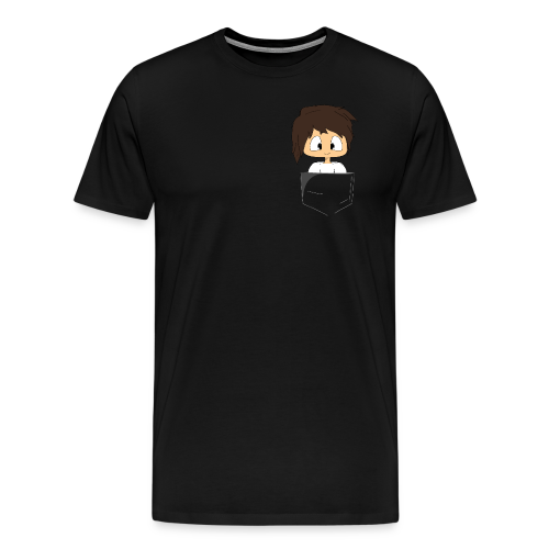 Pocket FLGshadow - Men's Premium T-Shirt