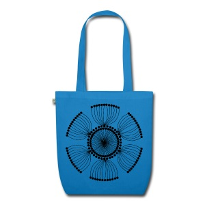 Poppy Seeds Mandala - EarthPositive Tote Bag