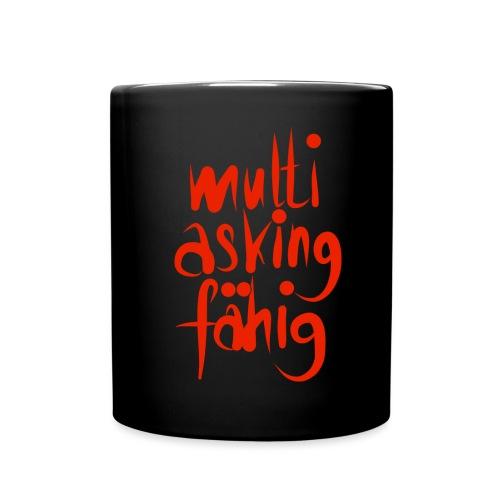 multi asking - Tasse einfarbig