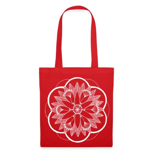 White Pond Bouquet Mandala - Tote Bag
