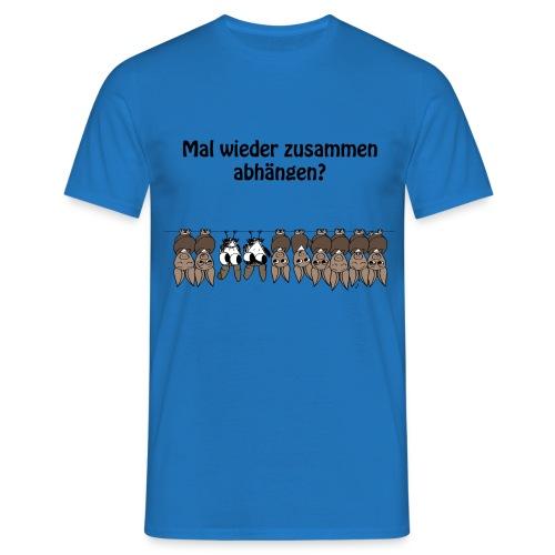Zusammen abhängen  - Männer T-Shirt
