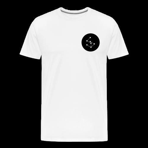 Lan Circle Man Shirt Black - Men's Premium T-Shirt