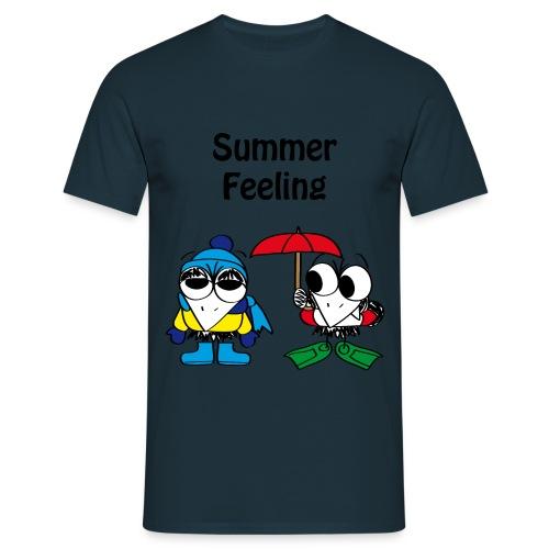 Summer Feeling T-shirt - Männer T-Shirt