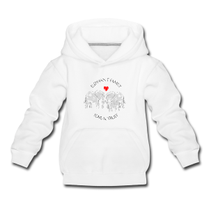 Elefant! Elephant Family Love And Trust Kinder Premium Kapuzenpullover - Kinder Premium Hoodie