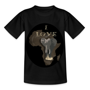 Elefant! I Love Teenager T-Shirt - Teenager T-Shirt