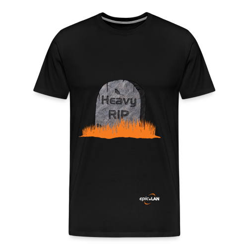 Heavy RIP Black - Men's Premium T-Shirt