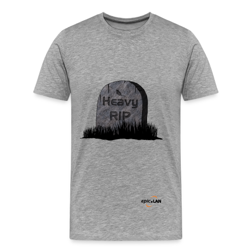 Heavy RIP Grey  - Men's Premium T-Shirt