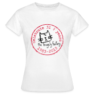 T-Shirts ~ Women's T-Shirt ~ bogely factory anniversary (F)