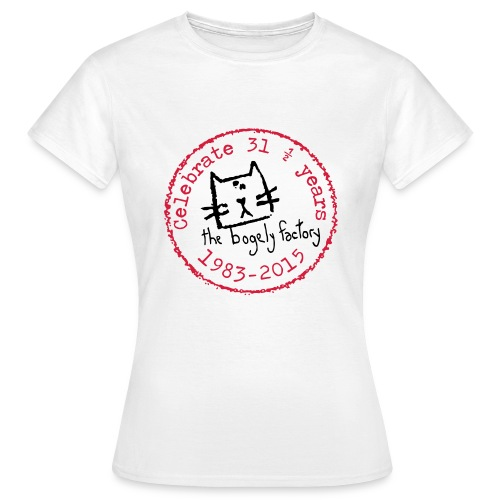 bogely factory anniversary (F) - Women's T-Shirt