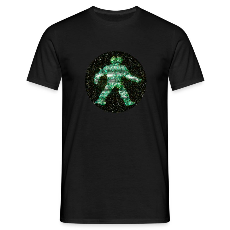 space raiders greenman (M) - Men's T-Shirt