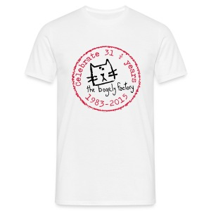 bogely factory anniversary (M) - Men's T-Shirt