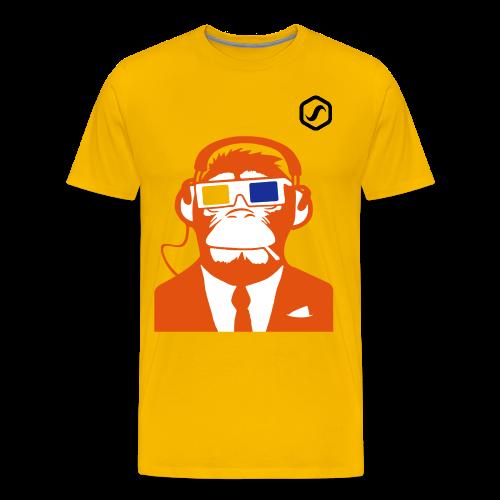 SoS T-Shirt - Cool Ape - Männer Premium T-Shirt