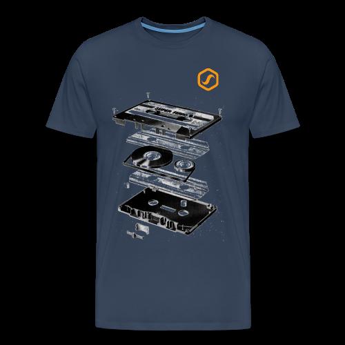 SoS T-Shirt - Audio Tape - Männer Premium T-Shirt