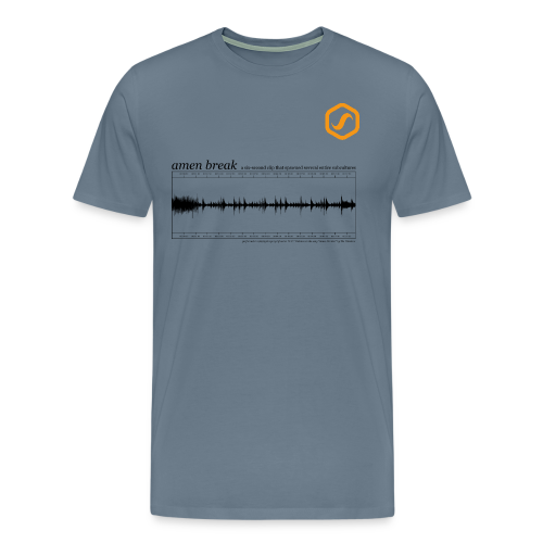 SoS T-Shirt - Amen Break - Männer Premium T-Shirt