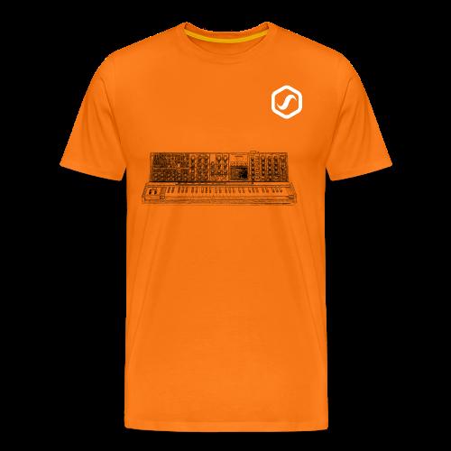 SoS T-Shirt - Moog Synth - Männer Premium T-Shirt