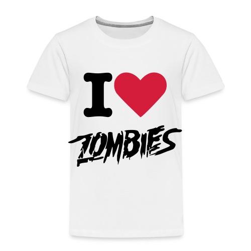 I Heart Zombies T-Shirt  Kids Size - Kids' Premium T-Shirt