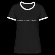 Tee shirts ~ Tee shirt contraste Femme ~ Numéro de l'article 108658144