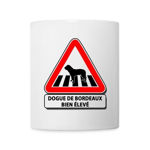 Dogue de Bordeaux bien élevé - Mug blanc