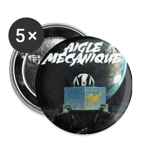 Badge Aigle Mécanique - Badge grand 56 mm