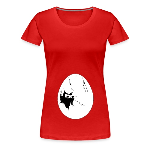 inside a egg - Vrouwen Premium T-shirt