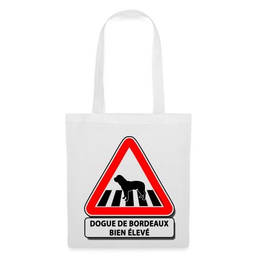 Dogue de Bordeaux bien élevé - Tote Bag