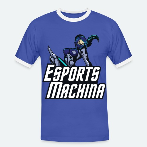 Esports Machina Purple-ish T-Shirt - Men's Ringer Shirt