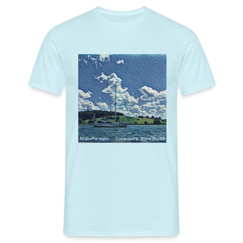 Men's T-Shirt - Lunenburg, Nova Scotia - Men's T-Shirt