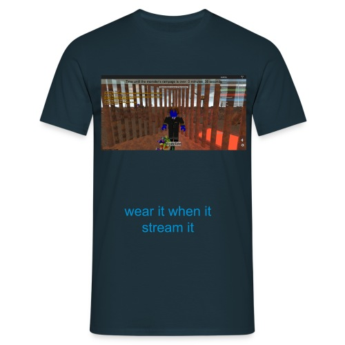 wear it when i stream it - Men's T-Shirt