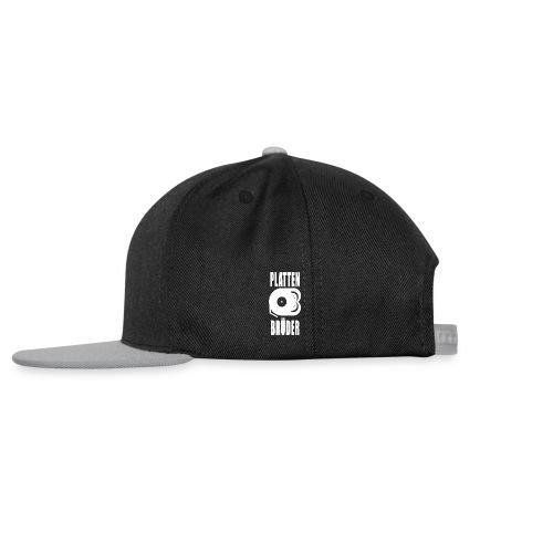 Plattenbrüder Snapback Cap Logo/schwarz - Snapback Cap