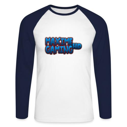 Maxime Gaming HD Premium Long-Sleeve  - Men's Long Sleeve Baseball T-Shirt