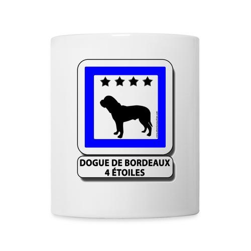 Dogue de Bordeaux 4 étoiles - Mug blanc