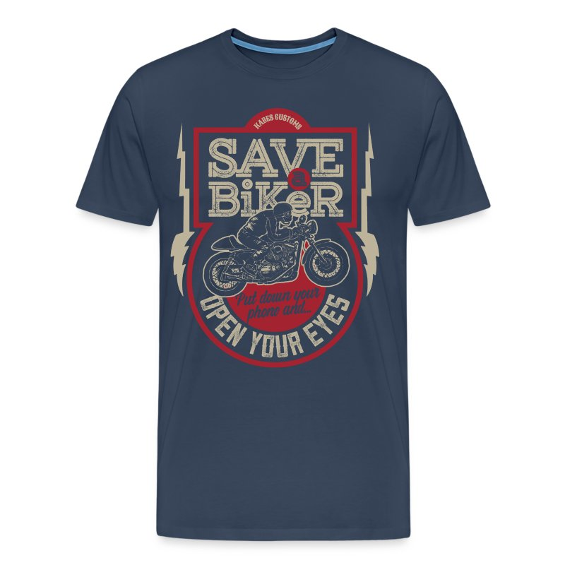 Save A Biker - Men's Premium T-Shirt