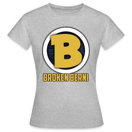 Broken Berni T-Shirt Frauen mit Hinterbedruck! - Frauen T-Shirt