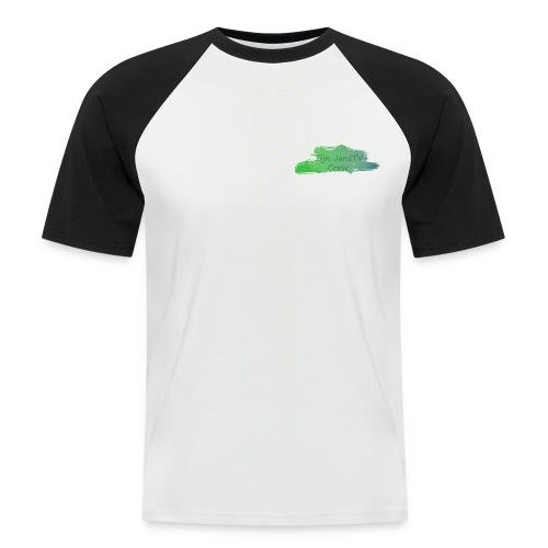 TijnjansTV Crew T-Shirt - Mannen baseballshirt korte mouw