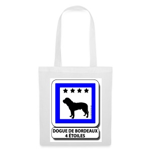 Dogue de Bordeaux 4 étoiles - Tote Bag