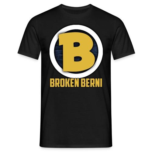 Broken Berni T-Shirt mit Hinterbedruck! - Männer T-Shirt