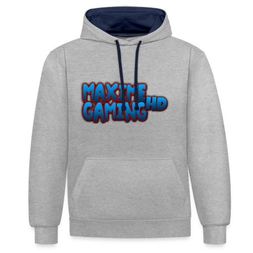 Maxime Gaming HD Contrast Colour Hoodie - Contrast Colour Hoodie